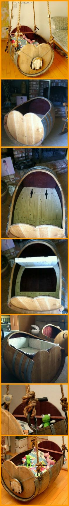 Another way to repurpose a wine barrel! http://theownerbuildernetwork.co/6eo7