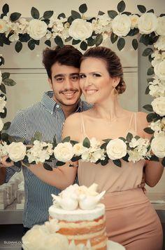 Confira o Noivado da Larize e Vinícius, super romântico e inspirador, decorado pela M Paraíso, empresa especializada na decoração de eventos intimistas.