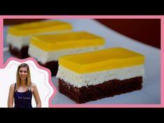 Fanta szelet elkészítése recepttel - Sütik Birodalma - YouTube Naan, Cheesecake, Recipes, Food, Youtube, Drink, Watch, Backen, Meal