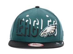 NFL Philadelphia Eagles Snapback Black Green 055 9434|only US$8.90