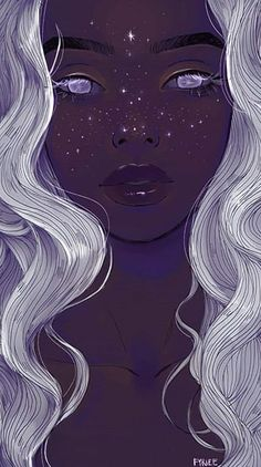 Finden Sie Bilder und Videos zu Kunst, Sternen und Galaxien a. Shared by Demet. Find pictures and videos about art, stars and galaxies on We Heart It - the app that lets you Art Inspo, Kunst Inspo, Inspiration Art, Art And Illustration, Illustrations, Fantasy Kunst, Fantasy Art, Fantasy Love, Bel Art