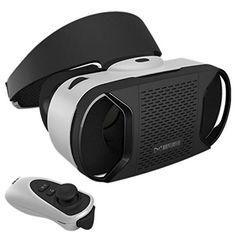 WensLTD For Samsung Galaxy S7 Google Cardboard WIFI VR BOX Virtual Reality 3D Glasses >>> Learn more by visiting the image link.