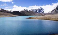 "Saatchi Art Artist Subhrajyoti Parida; Photography, ""The blue waters of Gurudongmar Lake, North Sikkim, India."" #art"