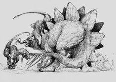 Resultado de imagen para stegosaurus face
