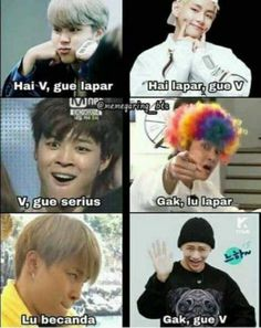 Discover recipes, home ideas, style inspiration and other ideas to try. Quotes Lucu, Jokes Quotes, Bts Facts, Bts Memes Hilarious, Meme Faces, Foto Bts, Funny Moments, Haha, Doraemon