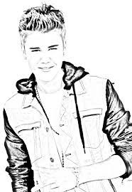 justin bieber coloring pages google search