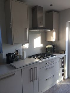 Cream High Gloss Kitchen