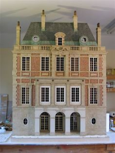 My dream dollhouse that is being built. Suzanne Crowley (jt-this really is a dream dolls house - beautiful!)
