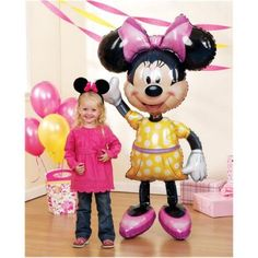 Balloon Beauty: Minnie Mouse Party