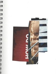 Keith Higginbotham, untitled collage 2013