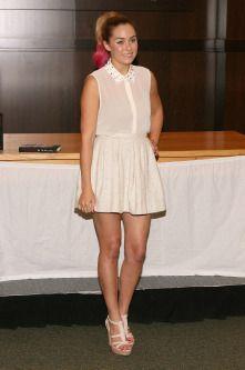 Lauren Conrad sporting the dip-dye trend