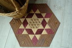 Free Star Quilting Pattern - Table Topper - Ozark