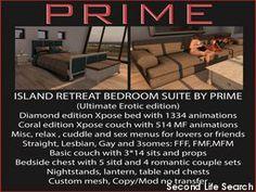 PrimBay - Island Retreat Complete room (Diamond/Coral)