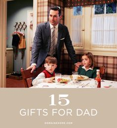 15 Perfect Gift Ideas for Dad // father's day, gift guide