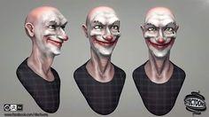 Clown !! Cinema 4D R17  ZBrush 4R7  AE Esteban Stectoons #c4d #zbrush by stectoons