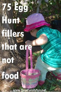 Food, Family, Fun.: 75 Egg Hunt Fillers that are not food!
