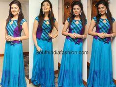 Sri Mukhi in Bhargavi Kunam Designer Skirt