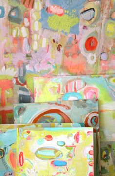 Pam Garrison paintings