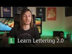 New Learn Lettering 2.0 Video! http://LearnLettering.com