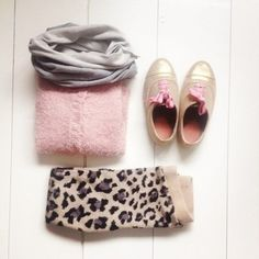Nice and warm Sunday outfit