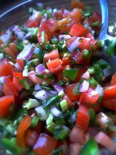 Fresh Pico de Gallo~ Diablo Shrimp with Crispy Plantain Chips | Hispanic Kitchen