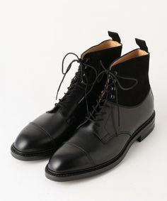 UNITED ARROWS MENS(ユナイテッドアローズメンズ)の<CROCKETT&JONES(クロケット&ジョーンズ)> Lace Up Boots(ブーツ)|ブラック