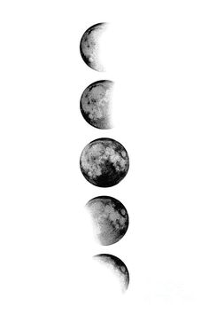 Moon Phases by Scandinavian Walls Moon Phases by Scandinavian Walls <br> Black And White Picture Wall, Black And White Wallpaper, Black Aesthetic Wallpaper, Black And White Pictures, White Art, Black And White Pics, Moon Phases Art, Moon Art, Moon Moon
