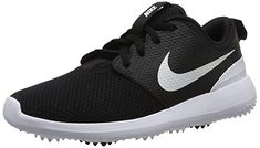 c2f0de3c57e7 These leather and mesh womens roshe g golf shoes by Nike feature a pressure  mapped outsole for excellent traction!