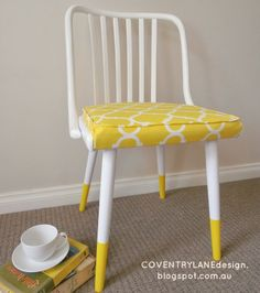 Coventry Lane Design: Sunny Dipped Chair