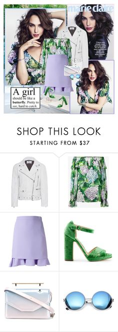 """""""Gal Gadot : )"""" by thisiswhoireallyam7 ❤ liked on Polyvore featuring Acne Studios, Dolce&Gabbana, Carven, Rupert Sanderson, M2Malletier and Revo"""
