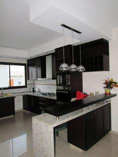 37 your dream kitchen design can now become reality 4 Kitchen Bar Design, Home Decor Kitchen, Interior Design Kitchen, Kitchen Furniture, Home Kitchens, Kitchen Ideas, Interior Paint, Kitchen Hacks, Diy Kitchen