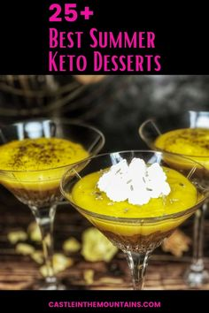 The Best Low Carb Summer Desserts - Easy Homemade Keto Treats! Keto On A Budget, Easy Summer Desserts, Good Food, Yummy Food, Gordon Ramsay, Jamie Oliver, Diet And Nutrition, Recipe Collection, Chefs