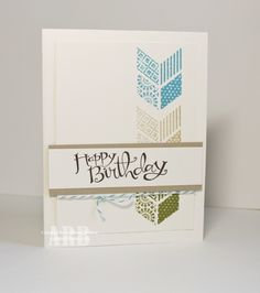 Want to learn a new way to create a stampin card? If so, you have come to the right place!