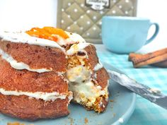 1000 Fit Meals: RECETA FITNESS: Carrot Cake integral y light!