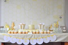 Bumble Bee Party!  Everything about this party looks delicious and sweet!