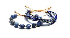 Náramek BRYXI nastavitelný ze sodalitu DN0908 | BRYXI shop.cz Beaded Bracelets, Shop, Jewelry, Fashion, Jewellery Making, Moda, Jewerly, Jewelery, Fashion Styles