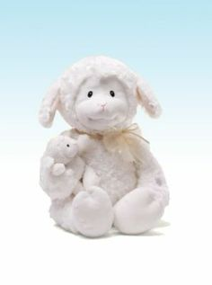 Nursery Time Lamb by GUND is one of our more unique baby gifts, and babies love it! This animated plush lamb holds her baby in arms as she recites five common nursery rhymes including Humpty Dumpty and Twinkle Twinkle Animal Delivery, Classic Nursery Rhymes, Little Bo Peep, Baby Toys, Baby Baby, Kids Toys, Baby Crib, Baby Gifts, New Baby Products