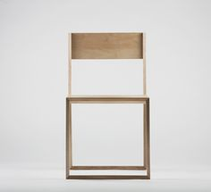 PUNAR plywood stool by Maxim Scherbakov, via Behance
