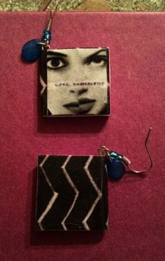 Girl Interrupted Mini Book Earrings by GidgetsTreasures on Etsy #girlinterrupted #winonaryder #angelinajolie #susannakaysen #minibookjewelry #bookearrings #homemadejewelry