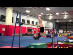 """In gymnastics, one of the """"milestone"""" skills for a rec athlete is the Chin-up Pullover. From time to time, I might come across a kid with the natural strength and coordination to learn… Gymnastics Lessons, Gymnastics Academy, Preschool Gymnastics, Boys Gymnastics, Gymnastics Tricks, Tumbling Gymnastics, Gymnastics Coaching, Gymnastics Workout, Gymnastics Photos"""