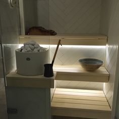 Cozy Sauna Shower Combo Decorating Ideas - Page 13 of 32 Portable Steam Sauna, Sauna Steam Room, Sauna Room, Bathroom Spa, Bathroom Interior, Mini Sauna, Scandinavian Saunas, Electric Sauna Heater, Sauna Lights