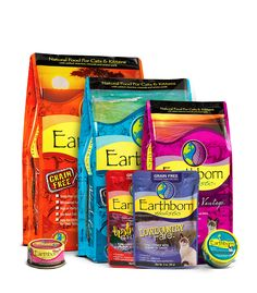 Earthborn Holistic   the best cat and dog food! Made a huge difference for my cat