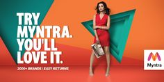 """Check out this @Behance project: """"Myntra - online shop""""…"""