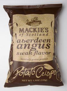 May's head to head challenge –Mackie's Aberdeen Angus Steak Chips