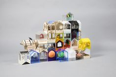 Doll Houses Designed for Charity in news events architecture  Category