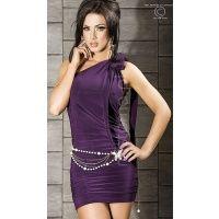 Niesamowicie elegancka i kokieteryjna sukienka. Doskonale nadaje się na każdą okazję, wyszczupla sylwetkę, podkreśla kobiece kształty i jest wspaniałą bazą dla pięknej biżuterii oraz innych dodatków