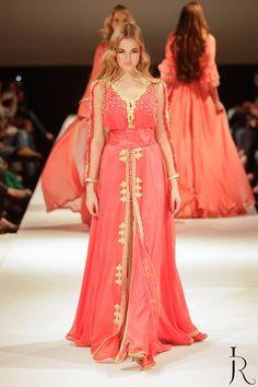 Caftan Crush : L'éblouissant caftan au drapé d'Abdelhanine Raouh