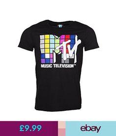 6335b685892bf4 T-Shirts Mtv - Music Television 80S Logo - Official Mens T Shirt  ebay