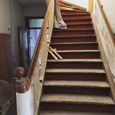 Treppe noch alt
