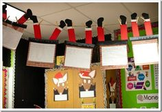 """If Santa got stuck in my chimney, I would . . . "" (Cute writing assignment). For my teacher friends!"